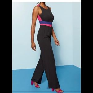 NWT - Colorblock Jumpsuit
